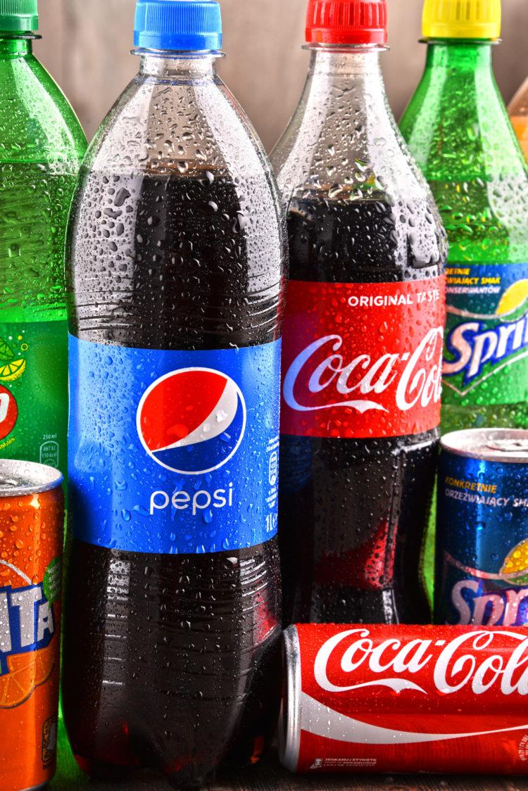 Image of coke and pepsi