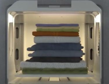Image of FoldiMate laundry folder.