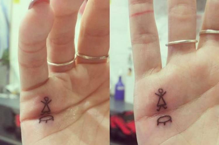 tattoo palm