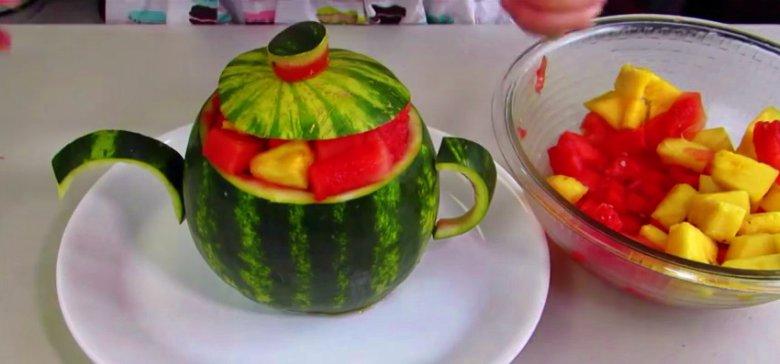 Watermelon Teapot