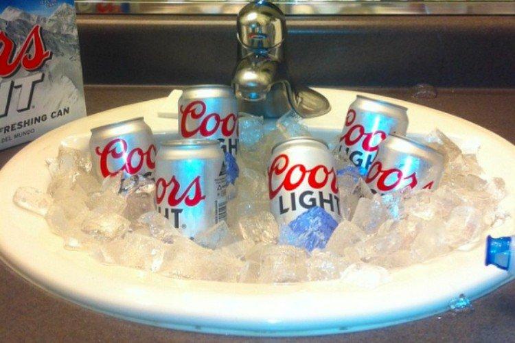 hotel beer cooler