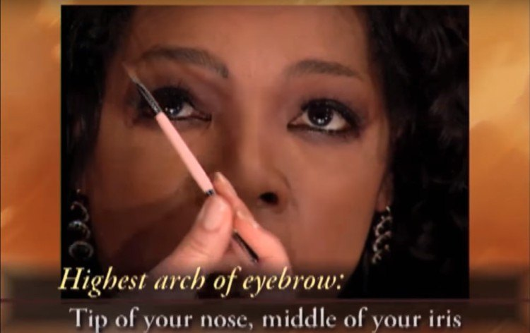How to tell the arch of your brow.