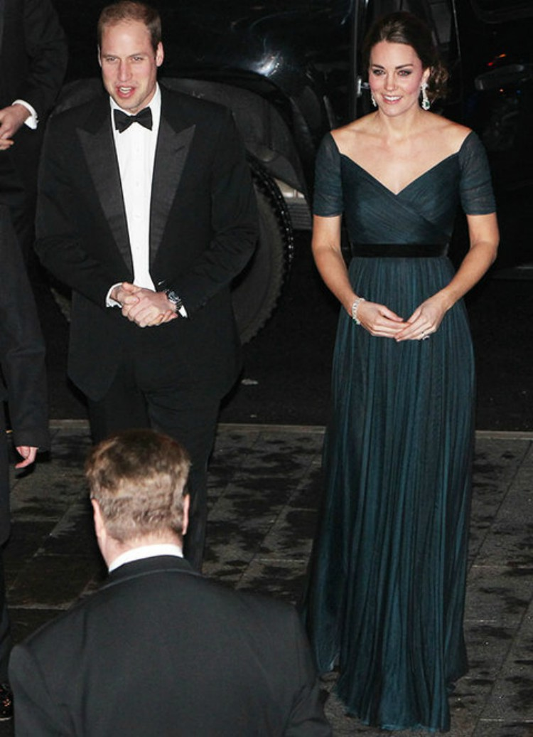 Image of Kate Middleton and Prince William.
