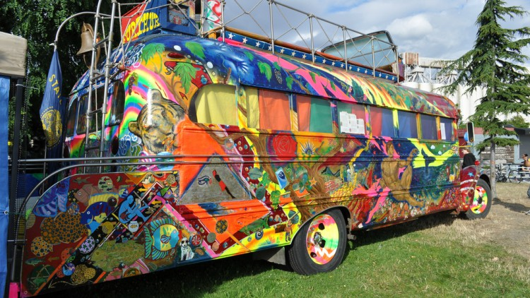 Ken Kesey's Psychedelic Bus Further