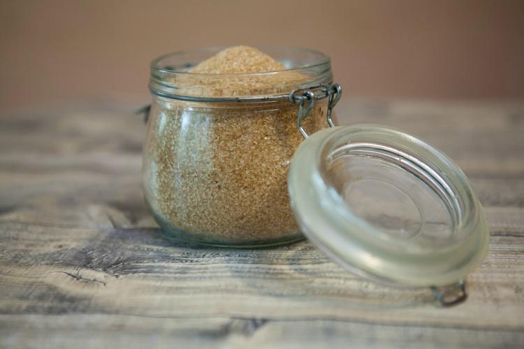 Use aluminum foil to soften brown sugar