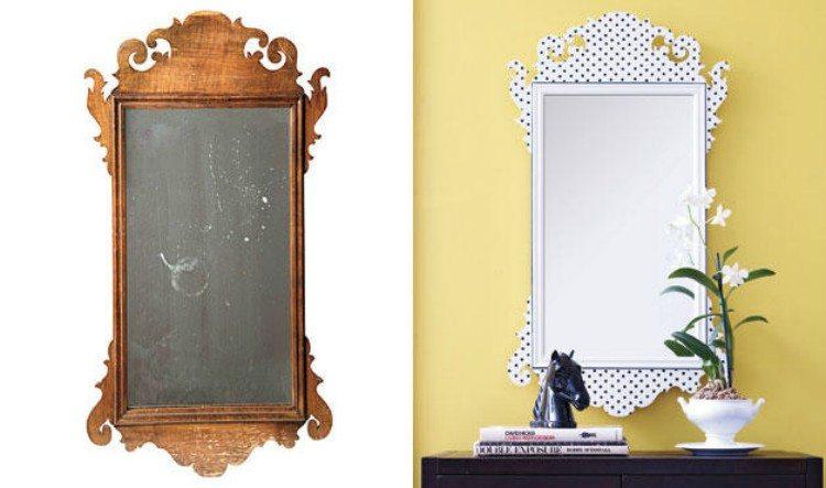 Polka Dot Mirror