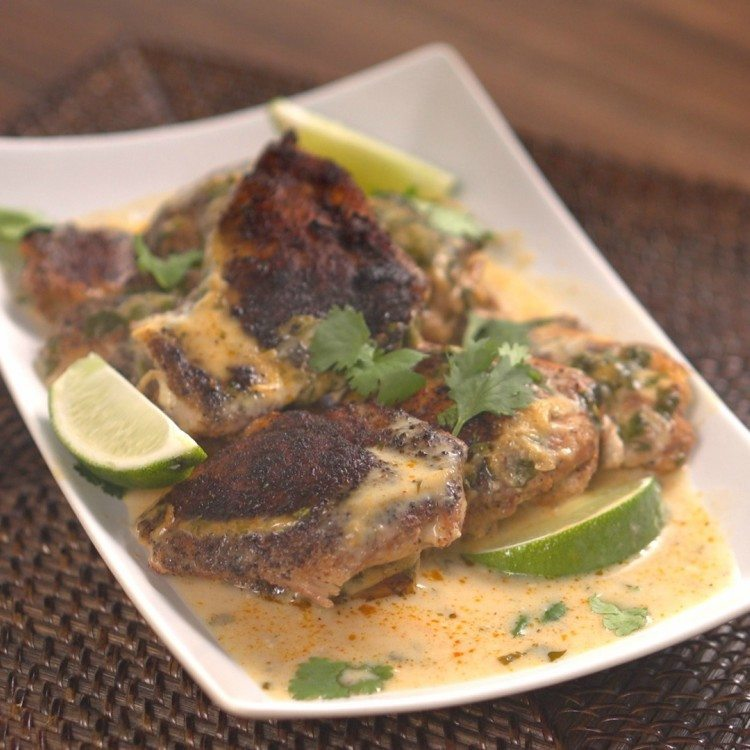 Slow Cooker Cilantro Lime Chicken Thumbnail 1