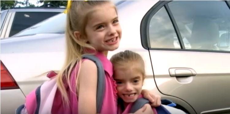 Sienna and Sierra as preschoolers