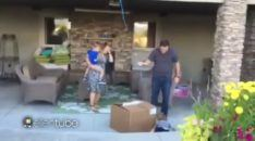 Box of balloons gender reveal fails
