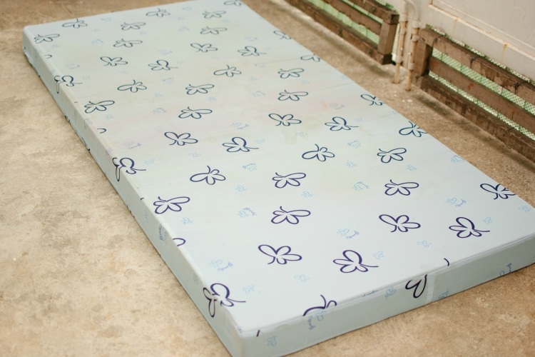 Dry out mattress in sun to remove mold and mildew