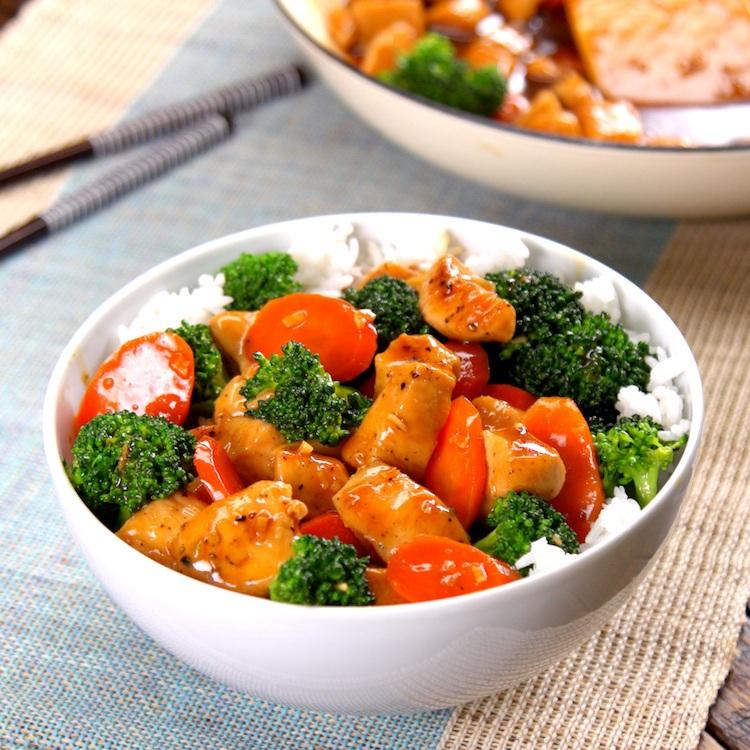 Honey Garlic Chicken Stir-Fry 3