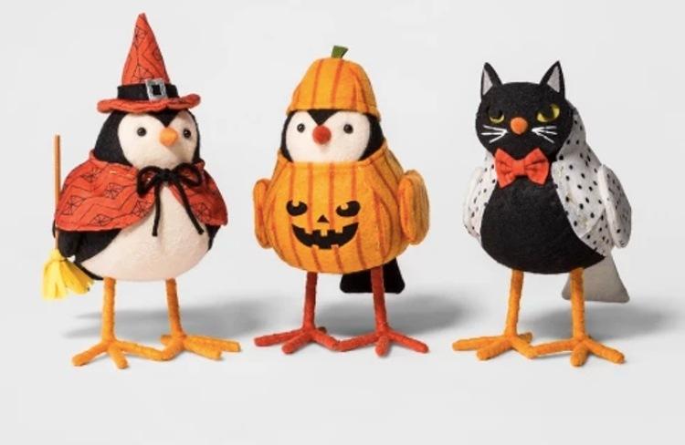 halloween target birds