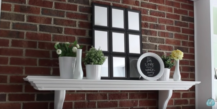How To Make A Diy Pottery Barn Mirror With Dollar Store Items