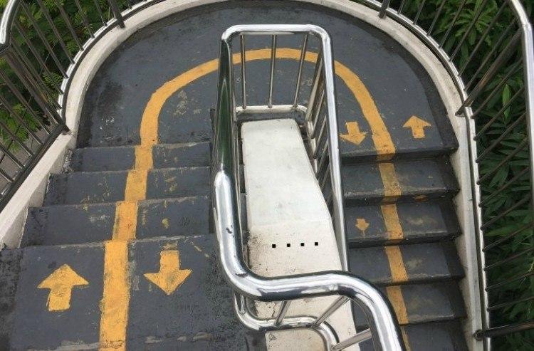 fail arrows stairs