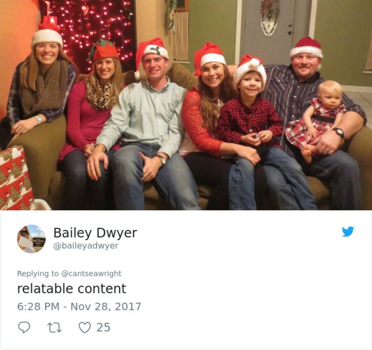 Family Christmas card.