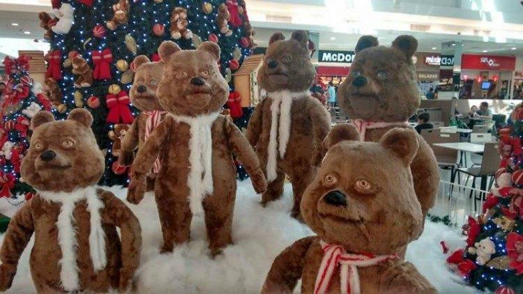 Horrifying bears in store.
