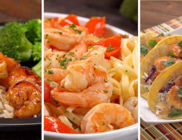 Our favorite seafood, every which way! These recipes are so simple, you can make them tonight -- even if you have no idea how to cook shrimp.
