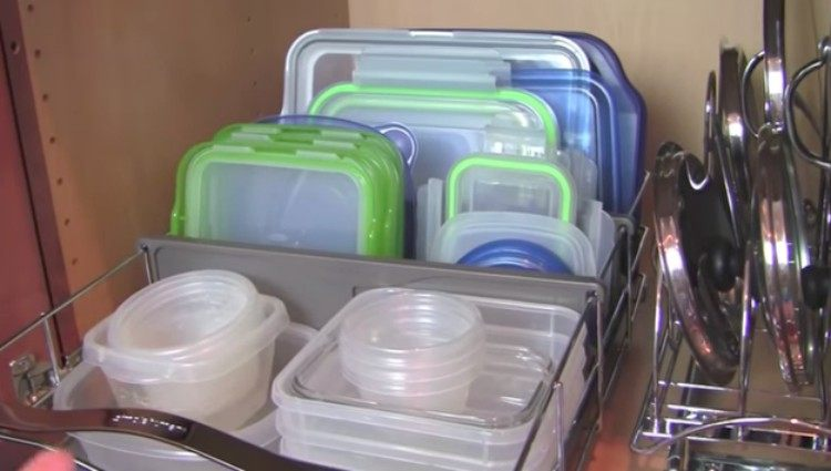 organizing hacks Tupperware