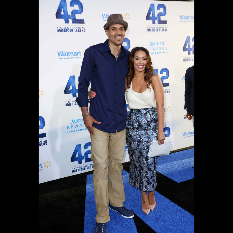 Gloria Govan and ex-husband Matt Barnes