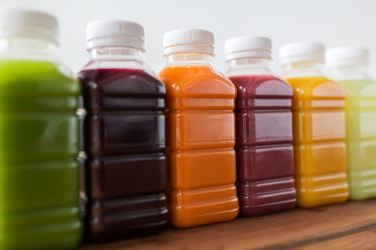 Image of bottled smoothies