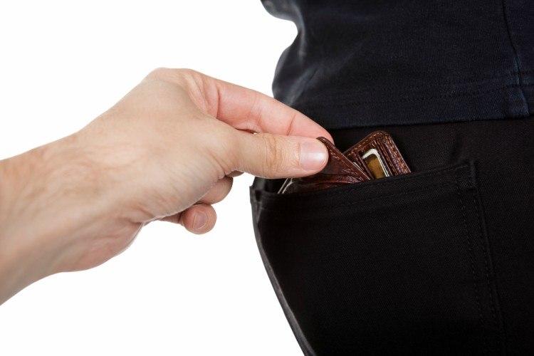 Image of pickpocket.