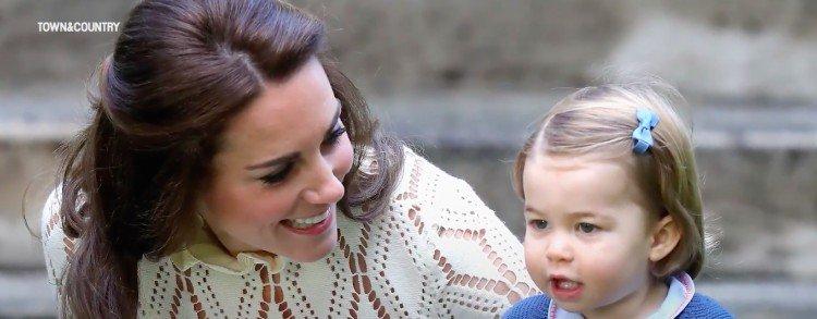 Duchess Kate and Charlotte