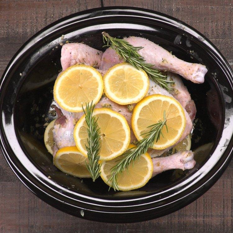 Slow Cooker Lemon Chicken 1