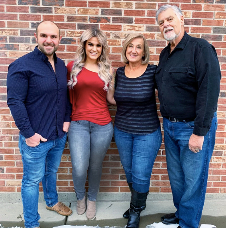 Image of the Bentley family's weight loss