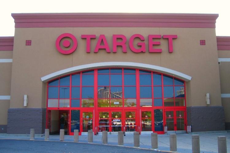 Image of Target storefront.