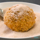 Cinnamon Sugar Churro Fried Ice Cream