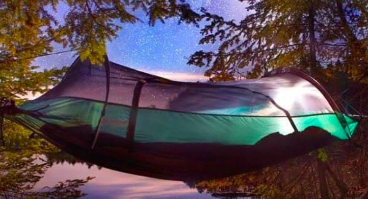 invention tent hammock