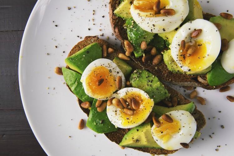 Image of avocado toast.