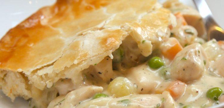 Chicken Pot Pie Filling Recipe