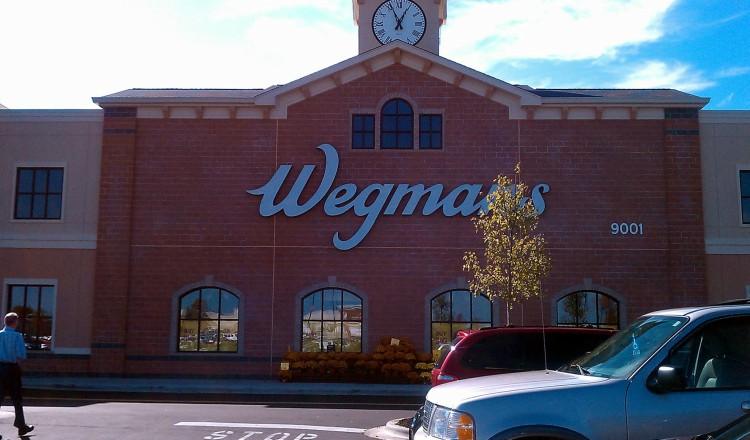 Image of Wegmans store front.