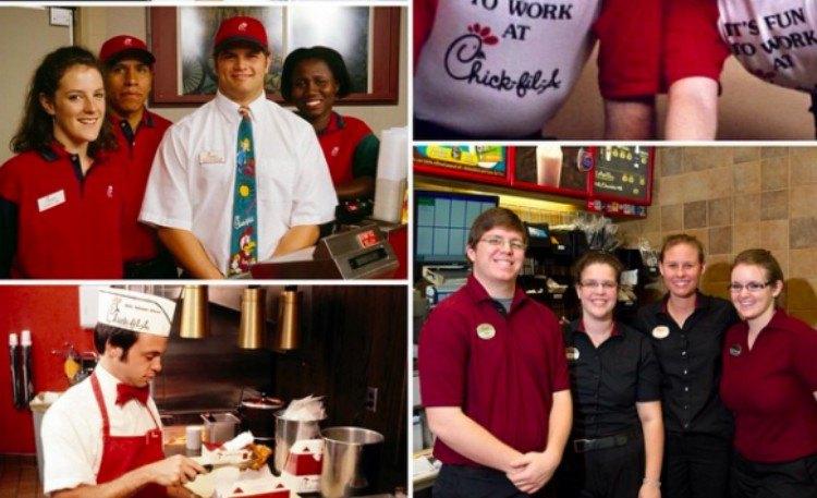 chickfila employees