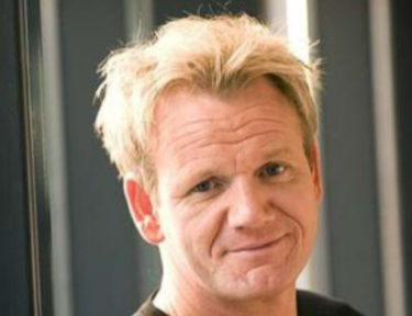 Image of gordon ramsay's face