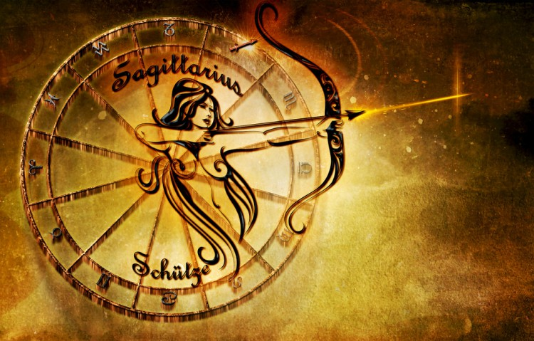 Image of Sagittarius zodiac sign.