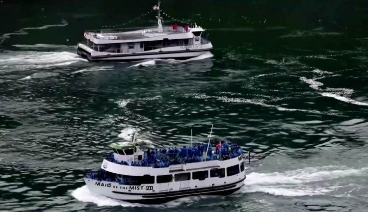 Niagara Falls boat