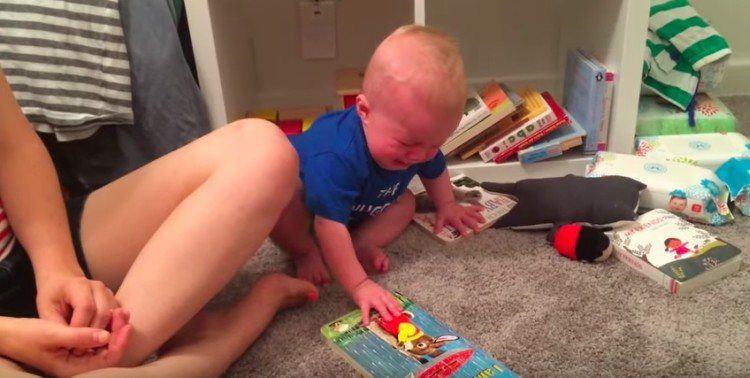 upset kids book