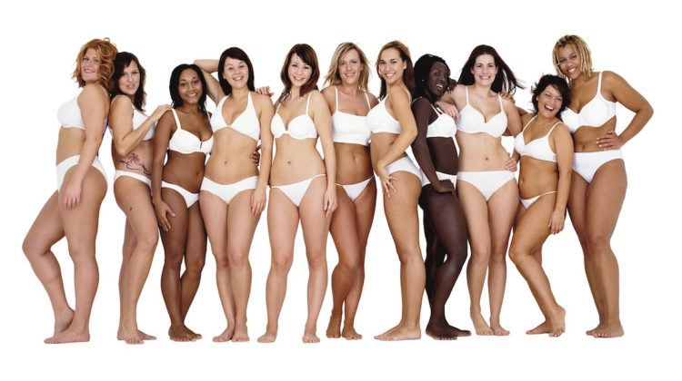 Dove's body love campaign.