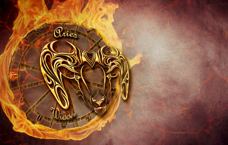 Image of Aries zodiac sign.