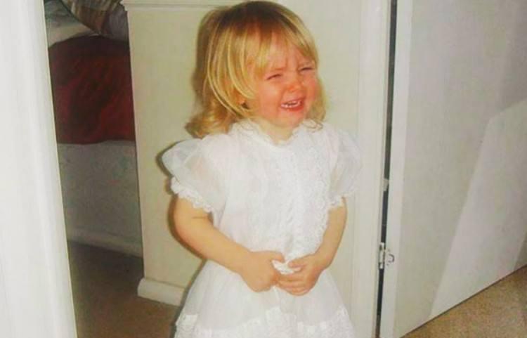 upset kids bride