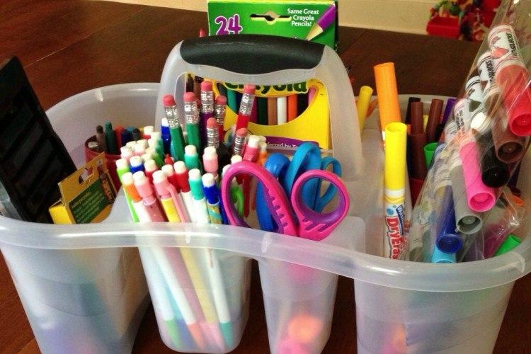 caddy homework supplies