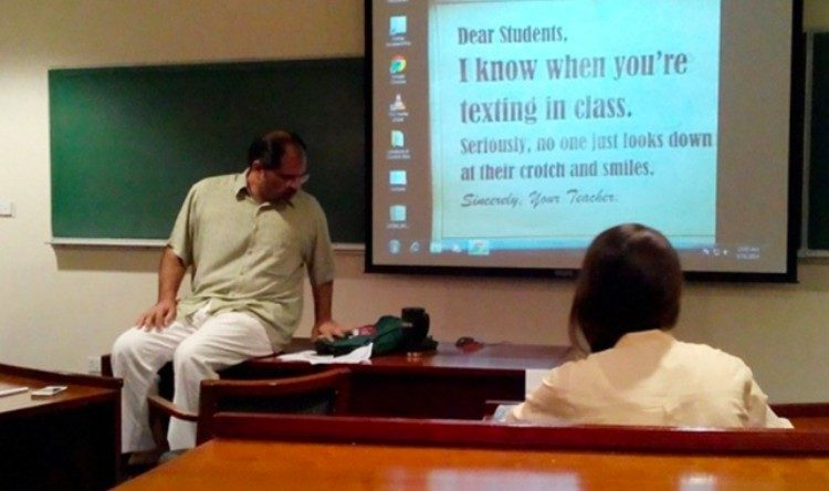 cool teacher sign