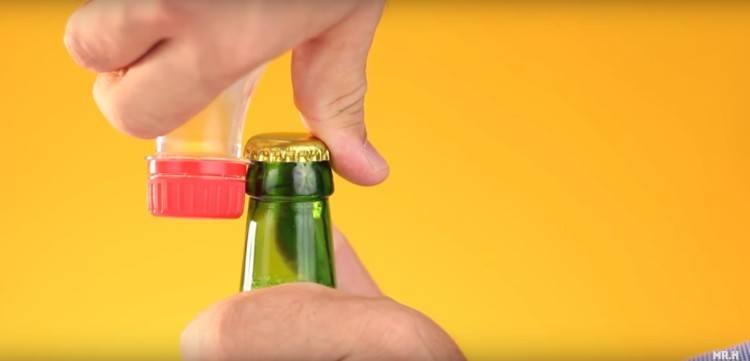 wine bottle opener life hack