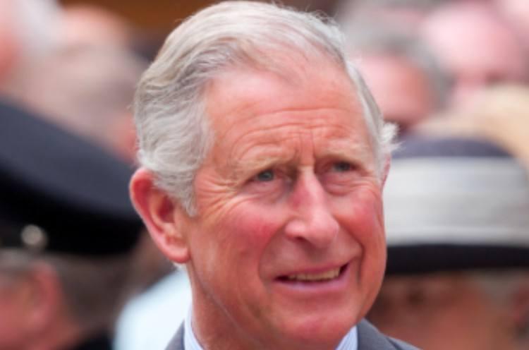 Prince Charles smiling