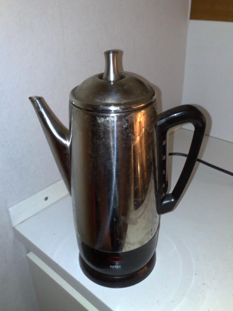 Image of coffee percolator.