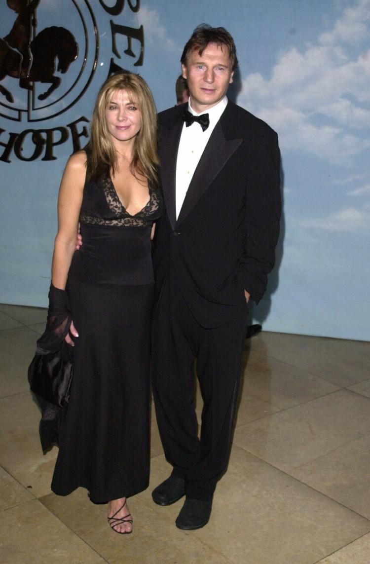 Image of Liam Neeson and Natasha Richardson.