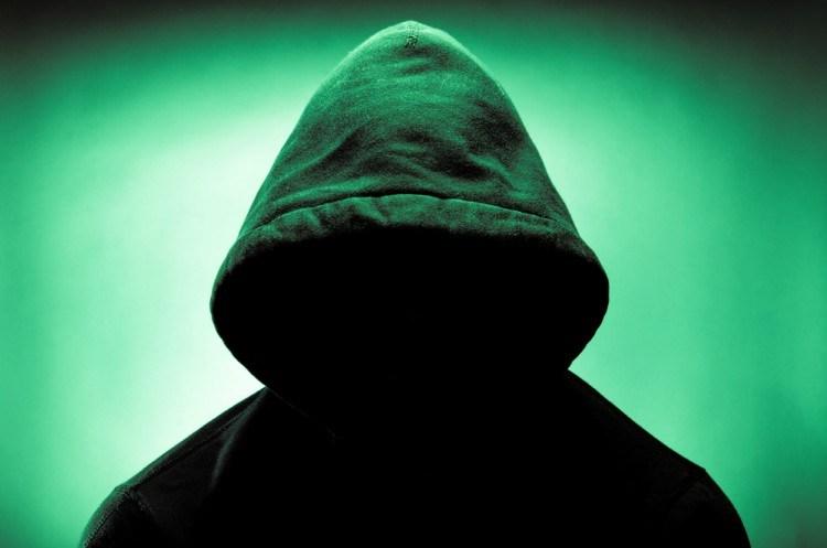 Hooded stranger.