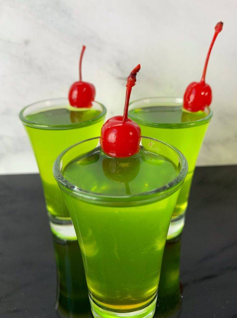 Scooby Snack Shot with Cherries